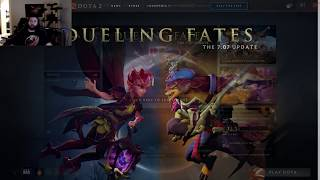 Dota 2 7.07 First Impressions with SUNSfan and himself