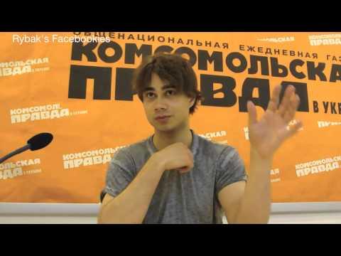 Alexander Rybak - Komsomolskaya Pravda Ukraine - Online conference 18.06.14