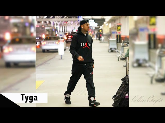 2ff7714f31b2 Celebrities Wearing Supreme x Air Jordan 5 Sneakers with Future ...