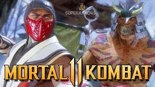 OUR FIRST RAGE QUITTER ON MK11... - Mortal Kombat 11 Online Beta Gameplay