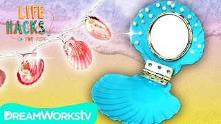 Shell Hacks for Real Life Mermaids | LIFE HACKS FOR KIDS
