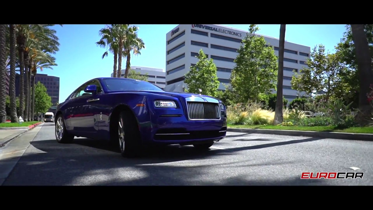 Eurocar Oc Inventory Rolls Royce Wraith Blue White For Sale By