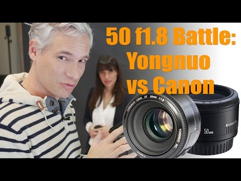 Canon vs Yongnuo 50mm f1.8: Save $60 on the Fantastic Plastic