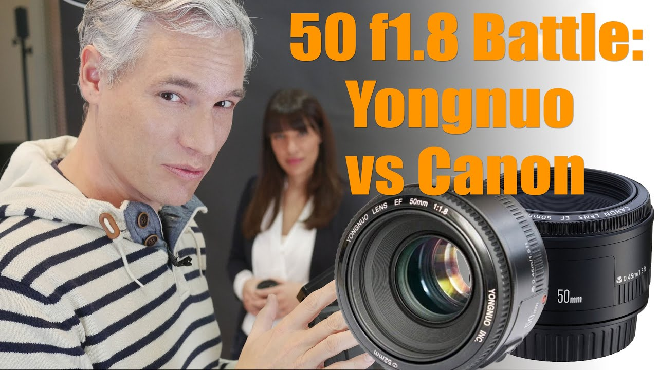 Canon Vs Yongnuo 50mm F1 8 Save 60 On The Fantastic