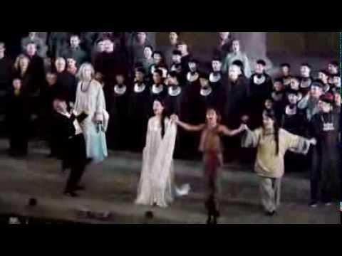 Turandot de Puccini, Orange 2012,  applaudissements + 2 bis