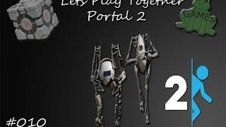 Let's Play Portal 2 Koop [German/Story] Part #010 Unlustiger Kastenbier!