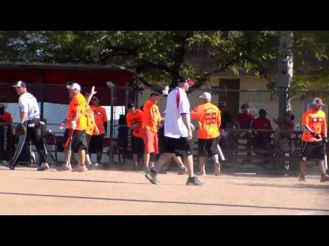 Detroit's Own's #51 scores run vs. Michigan Mush in D state softball tourney