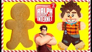 Ralph Breaks The Internet Inspired Gingerbread Man Cookie Decoration
