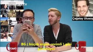 Yabancılar Çağatay Ulusoy Hakkında Ne Dedi Türkçe Altyazı 2016
