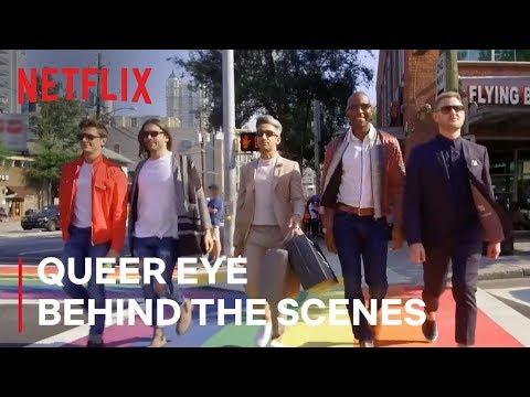 Queer Eye Hosts Take You Behind Scenes   Netflix