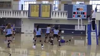 Heritage High School: Girls Freshman & JV  Volleyball 8-29-18
