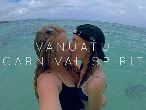 TWO GIRLS IN VANUATU!! -The Carnival Spirit CRUISE