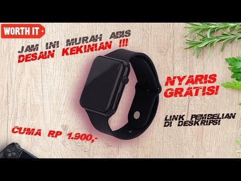 Unboxing Jam Tangan KINO Men LED Watch HW1 Indonesia | Harga Gak Masuk Akal !!!