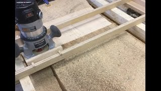 Wood Slab Flattening: Using A Handheld Router