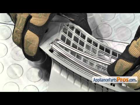 Dryer Lint Filter Cover (part #DC63-01149A) - How To Replace