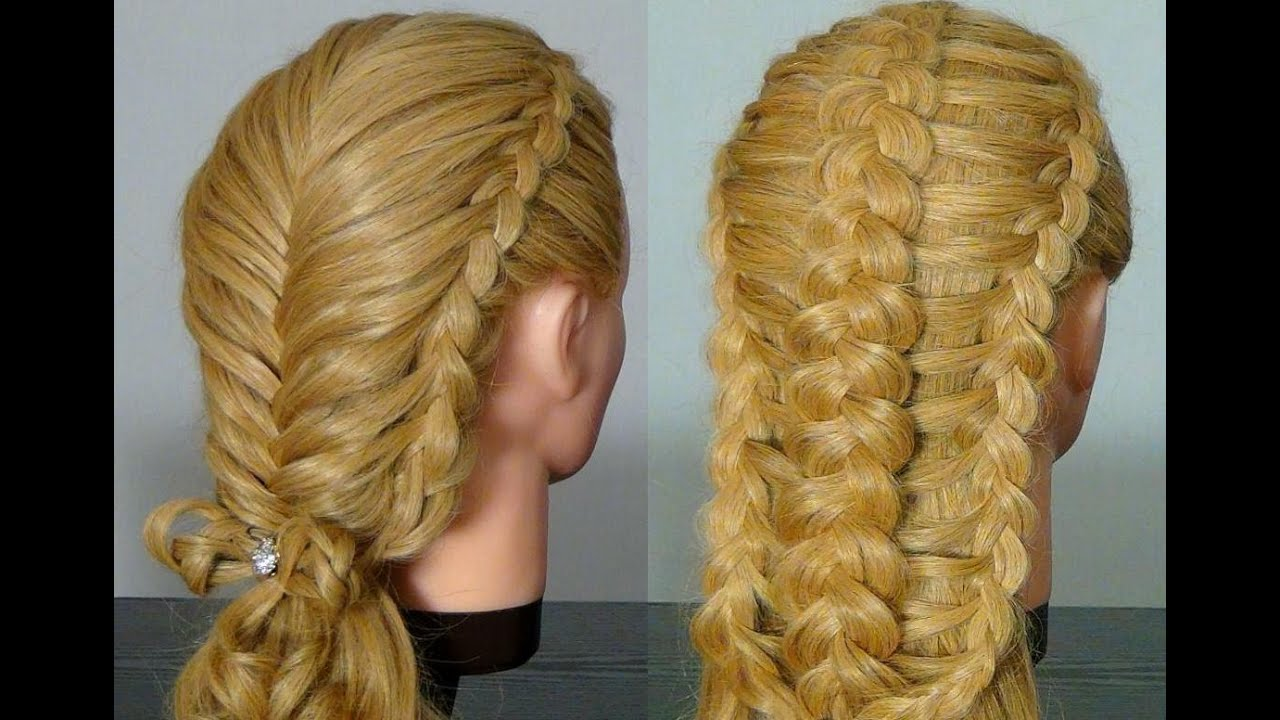 Braid Hairstyles For Long Hair Youtube : ... . Two Braided hairstyles for long hair tutorial - YouTube