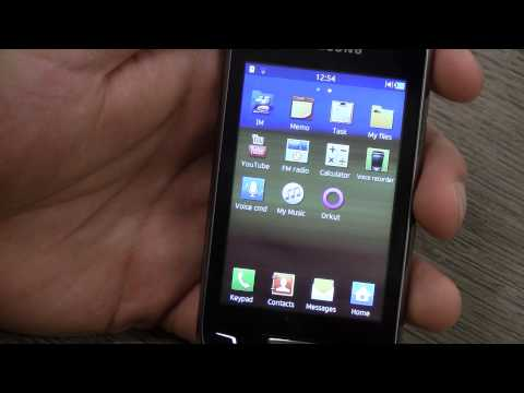 Samsung Wave Y Quick hands on Review - iGyaan.in