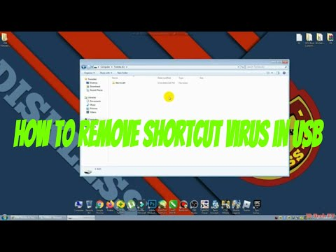 ✔️Part 1 How To Remove Shortcut Virus From USB Flash Drive