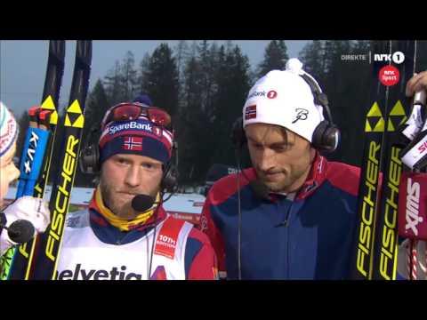 Tour De Ski 2016 Stage 2 -Petter Northug Interview