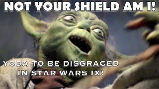 STAR WARS IX PLANS FOR YODA ARE CRINGEY AF!!