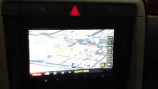 아우디 A4+네비스트+소니후방카메라 장착후 동영상