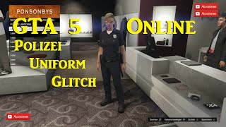 GTA 5 Online * GEPATCHT * Polizei Uniform bekommen Glitch - alle Konsolen 1.24 / 1.23 Deutsch
