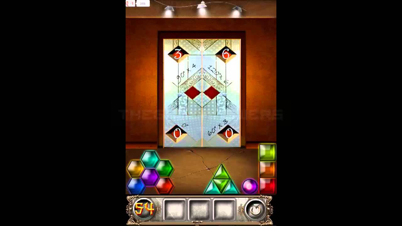 100 Doors Floors Escape Level 54 Walkthrough Guide Youtube