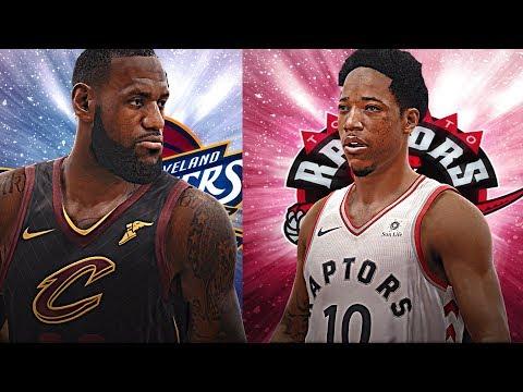 NBA LIVE 18 - Cleveland Cavaliers vs Toronto Raptors Playoffs SIzzle