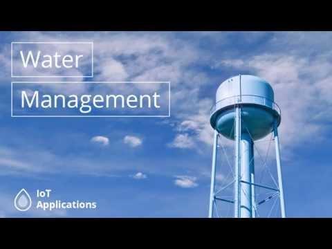.物聯網:解決世界水資源危機?
