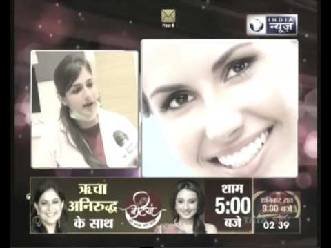 Dr Shruti Malik, Dental Surgeon-Radix Hospital, giving tips on dental care on India News