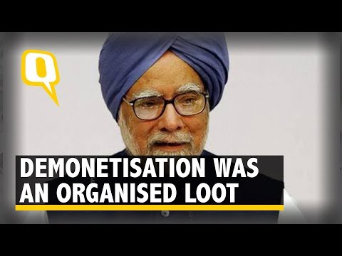 Nov 8 Was a Black Day for Our Economy & Our Democracy: Former PM Manmohan Singh  |The Quint