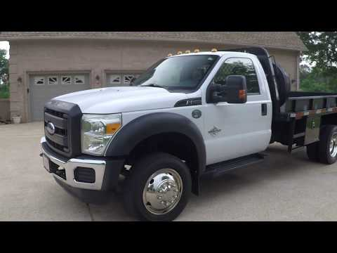 West TN 2015 Ford F550 Cab Chasis XL 6 7L Diesel Flat Bed Truck used for sale info www sunsetmotors