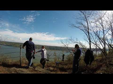 """⁴ᴷ Hiking the """"Giant Stairs Loop"""" in Palisades Interstate Park - Full Hike RAW Video"""