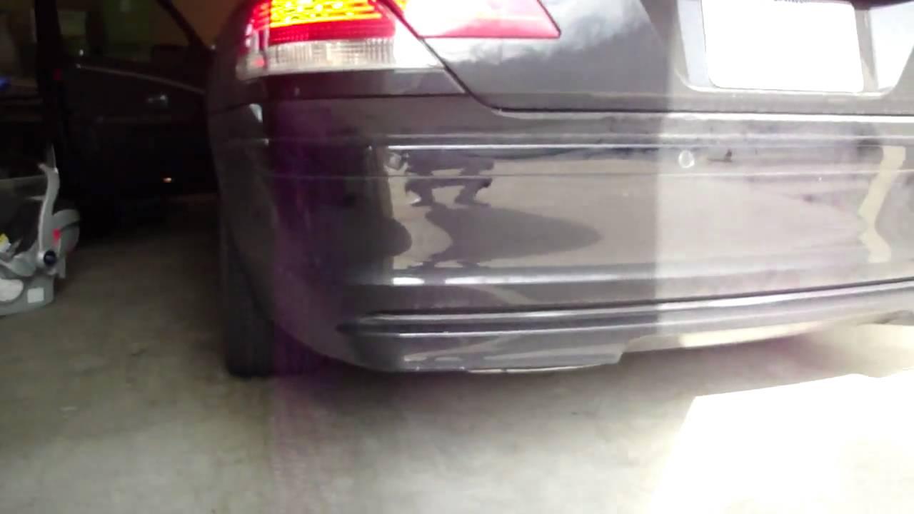 2006 BMW 750I Problems >> 2006 BMW 750i - WHITE SMOKE EXHAUST PROBLEM - YouTube