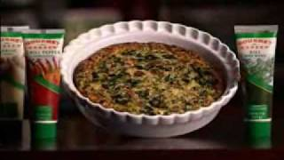 Bacon & Spinach Crustless Quiche Recipe