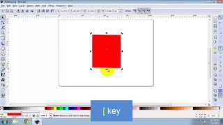 Rotating and Skewing an Object in Inkscape