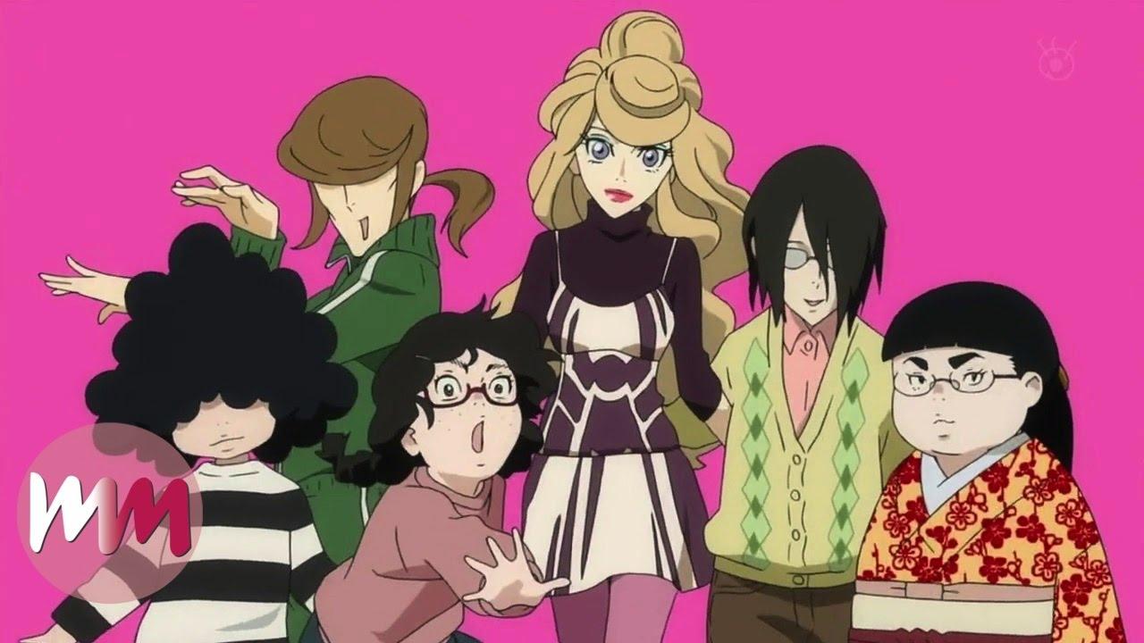Top  Anime Girl Groups