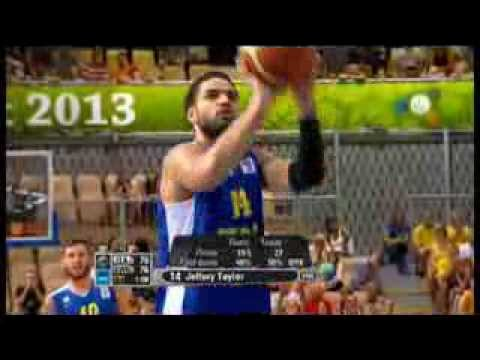 Jeff Taylor (28pts) vs. Italy (EuroBasket 2013)