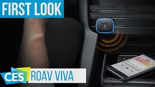 Rova Viva USB Car Charger with Alexa Support #CES2018