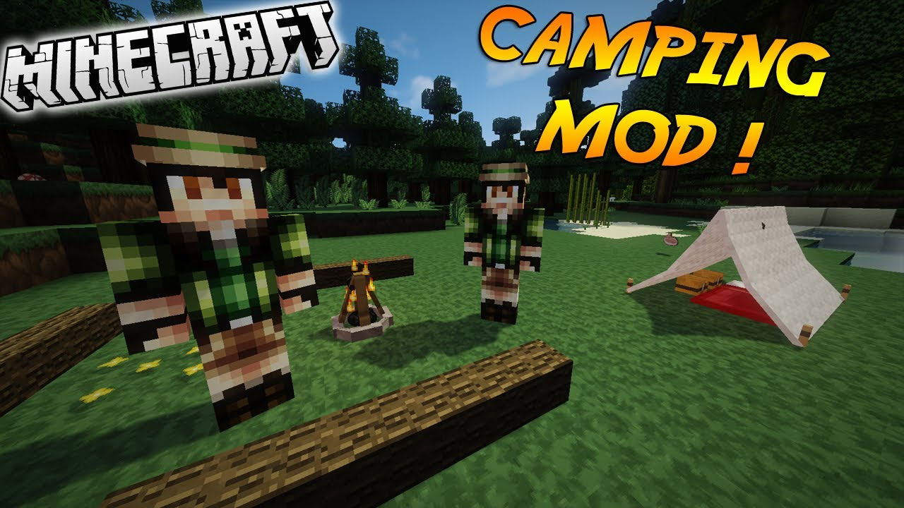 How to make a backpack in minecraft camping mod