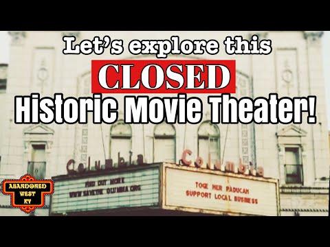 A tour through the Columbia Theatre in Paducah Kentucky