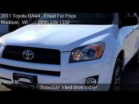 2011 toyota rav4 sport 4x4 4dr suv for sale in madison wi for Smart motors toyota madison wi