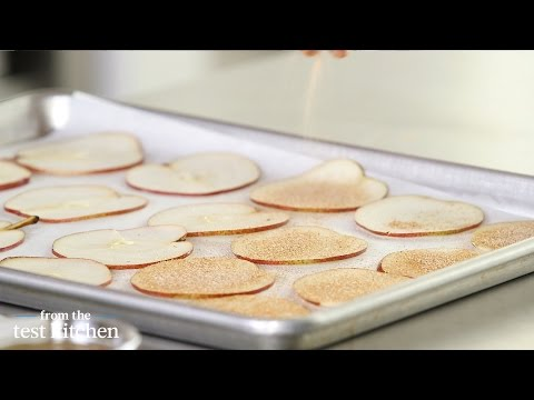Baked Pear Chips From The Test Kitchen
