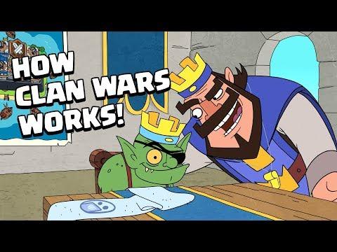 Clash-A-Rama! How Clan Wars Works!