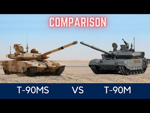 Difference Between T-90MS Tagil And T-90M Proryv 3