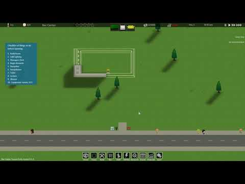 Rec Center Tycoon Gameplay (PC Game) |