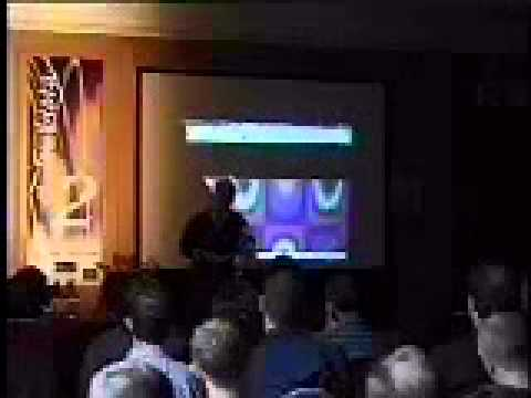 Rudy Rucker at Digital Biota 2 1998