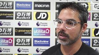 WATCH: David Wagner reacts to Huddersfield Town's 3-0 win over Crystal Palace