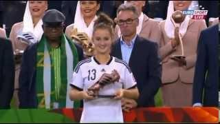 U20 WM Finale - Siegerehrung (Beste Spieler, Goldener Handschuh, Beste Torschützen)