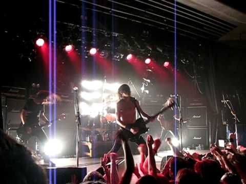 Airbourne - Stand and Deliver at the HiFi Bar Melbourne